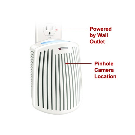 Air Freshener Covert Wifi Spy Camera