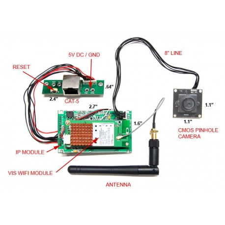DIY Wifi Module Spy Camera