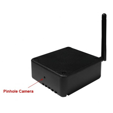 DIY Black Box Wifi Spy Camera