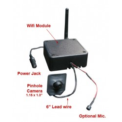 DIY Black Box Wifi Spy Nanny Covert Hidden Camera