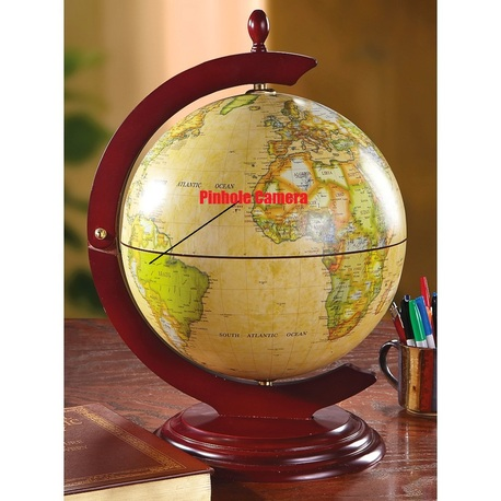 WiFi Battery Operated Globe Hidden Spy Nannya Camera