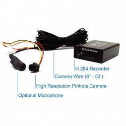 Self Recording DVR Black Box Hidden Covert Spy Nanny Camera