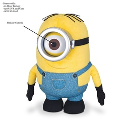 Minion Doll Spy Camera