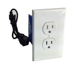 WiFi Power Outlet Hidden Covert Spy Nanny Hidden Camera 20 Hour Battery