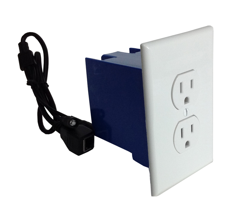 Battery Powered Outlet >> Self Recording Battery Powered Outlet Hidden Spy Nanny