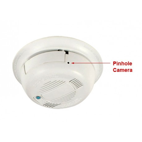 Smoke Detector Covert Wifi Spy Camera