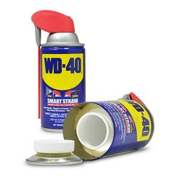WiFi Battery Operated WD-40 Bottle Hidden  Spy Hidden Nanny Camera